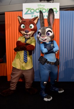 "HOLLYWOOD, CA - FEBRUARY 17: A general view of the atmosphere is seen during the Los Angeles premiere of Walt Disney Animation Studios' ""Zootopia"" on February 17, 2016 in Hollywood, California. (Photo by Alberto E. Rodriguez/Getty Images for Disney)"