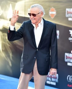 """HOLLYWOOD, CALIFORNIA - APRIL 12: Stan Lee attends The World Premiere of Marvel's """"Captain America: Civil War"""" at Dolby Theatre on April 12, 2016 in Los Angeles, California. (Photo by Lester Cohen/Getty Images for Disney) *** Local Caption *** Stan Lee"""