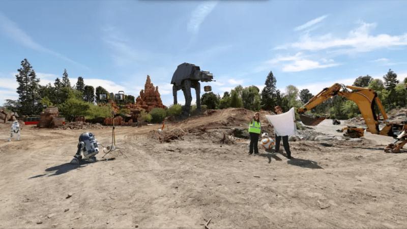 Disneyland Breaks Ground on Star Wars Expansion