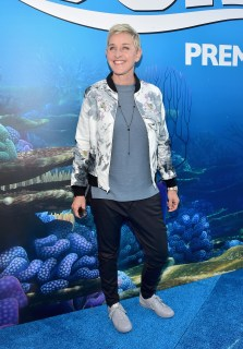 HOLLYWOOD, CA - JUNE 08: Actress Ellen DeGeneres attends The World Premiere of Disney-Pixar's FINDING DORY on Wednesday, June 8, 2016 in Hollywood, California. (Photo by Alberto E. Rodriguez/Getty Images for Disney) *** Local Caption *** Ellen DeGeneres