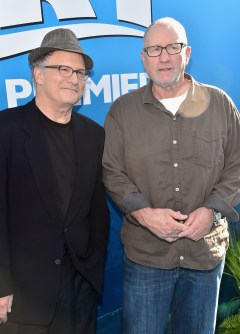 HOLLYWOOD, CA - JUNE 08: Actors Albert Brooks (L) and Ed O'Neill attend The World Premiere of Disney-Pixar's FINDING DORY on Wednesday, June 8, 2016 in Hollywood, California. (Photo by Alberto E. Rodriguez/Getty Images for Disney) *** Local Caption *** Albert Brooks; Ed O'Neill