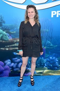 HOLLYWOOD, CA - JUNE 08: Screenwriter Victoria Strouse attends The World Premiere of Disney-Pixar's FINDING DORY on Wednesday, June 8, 2016 in Hollywood, California. (Photo by Alberto E. Rodriguez/Getty Images for Disney) *** Local Caption *** Victoria Strouse