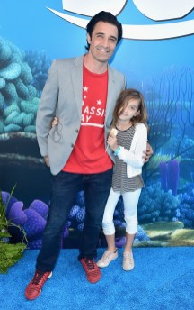 HOLLYWOOD, CA - JUNE 08: Actor Gilles Marini (L) and guest attend The World Premiere of Disney-Pixar's FINDING DORY on Wednesday, June 8, 2016 in Hollywood, California. (Photo by Alberto E. Rodriguez/Getty Images for Disney) *** Local Caption *** Gilles Marini