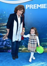 HOLLYWOOD, CA - JUNE 08: Singer/actress Angelica Maria attends The World Premiere of Disney-Pixar's FINDING DORY on Wednesday, June 8, 2016 in Hollywood, California. (Photo by Alberto E. Rodriguez/Getty Images for Disney) *** Local Caption *** Angelica Maria