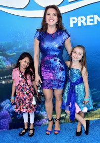 HOLLYWOOD, CA - JUNE 08: Actress Alicia Machado (C) and guests attend The World Premiere of Disney-Pixar's FINDING DORY on Wednesday, June 8, 2016 in Hollywood, California. (Photo by Alberto E. Rodriguez/Getty Images for Disney) *** Local Caption *** Alicia Machado