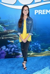 HOLLYWOOD, CA - JUNE 08: Actress Madison Hu attends The World Premiere of Disney-Pixar's FINDING DORY on Wednesday, June 8, 2016 in Hollywood, California. (Photo by Alberto E. Rodriguez/Getty Images for Disney) *** Local Caption *** Madison Hu