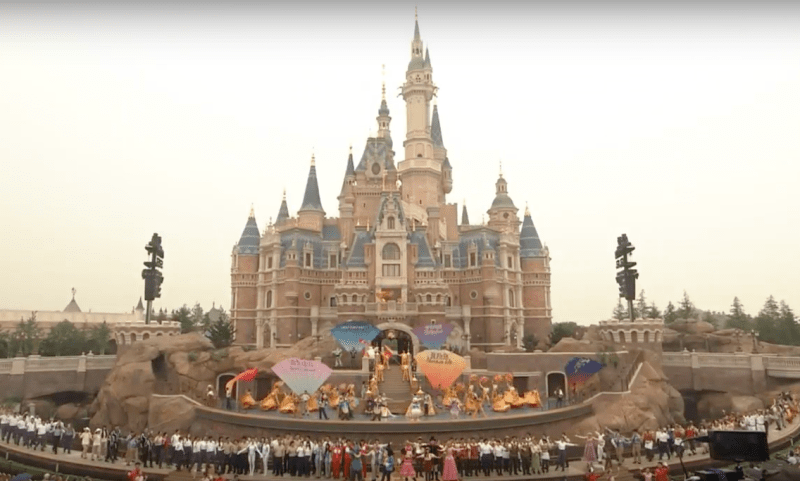 Shanghai Disney Resort Dedication Ceremony