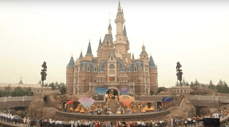 Shanghai Disney Resort Dedication Ceremony