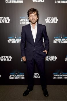 LONDON, ENGLAND - JULY 15: Diego Luna attends the Star Wars Celebration 2016 at ExCel on July 15, 2016 in London, England. (Photo by Ben A. Pruchnie/Getty Images for Walt Disney Studios) *** Local Caption *** Diego Luna