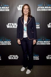 LONDON, ENGLAND - JULY 15: Kathleen Kennedy attends the Star Wars Celebration 2016 at ExCel on July 15, 2016 in London, England. (Photo by Ben A. Pruchnie/Getty Images for Walt Disney Studios) *** Local Caption *** Kathleen Kennedy