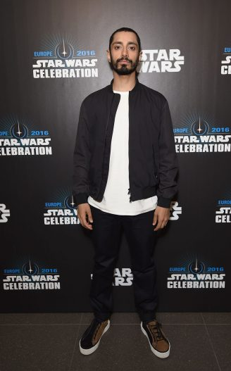 LONDON, ENGLAND - JULY 15: Riz Ahmed at the Star Wars Celebration at ExCel on July 15, 2016 in London, England. (Photo by Ben A. Pruchnie/Getty Images for Walt Disney Studios) *** Local Caption *** Riz Ahmed
