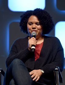 LONDON, ENGLAND - JULY 17: Kiri Hart, SVP of Development, on stage during Future Directors Panel at the Star Wars Celebration 2016 at ExCel on July 17, 2016 in London, England. (Photo by Ben A. Pruchnie/Getty Images for Walt Disney Studios) *** Local Caption *** Kiri Hart