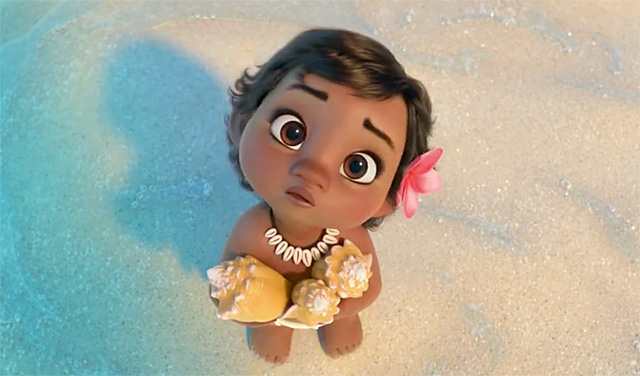 International Trailer Introduces Baby Moana