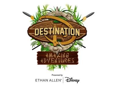 2016 Destination D: Amazing Adventures Logo