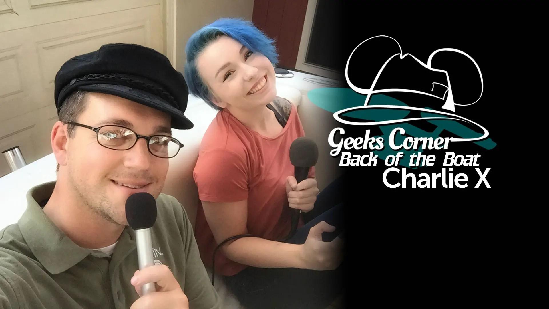 Charlie X - Geeks Corner - Back of the Boat