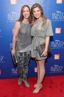 "NEW YORK, NY - SEPTEMBER 18: Paige Davis and Julia Rae Schlucter attend the special screening of Disney's ""Beauty and the Beast"" to celebrate the 25th Anniversary Edition release on Blu-Ray and DVD on September 18, 2016 in New York City. (Photo by Neilson Barnard/Getty Images for Walt Disney Studios Home Entertainment) *** Local Caption *** Paige Davis; Julia Rae Schlucter"