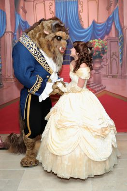 """NEW YORK, NY - SEPTEMBER 18: Beast and Belle attend the special screening of Disney's """"Beauty and the Beast"""" to celebrate the 25th Anniversary Edition release on Blu-Ray and DVD on September 18, 2016 in New York City. (Photo by Neilson Barnard/Getty Images for Walt Disney Studios Home Entertainment)"""