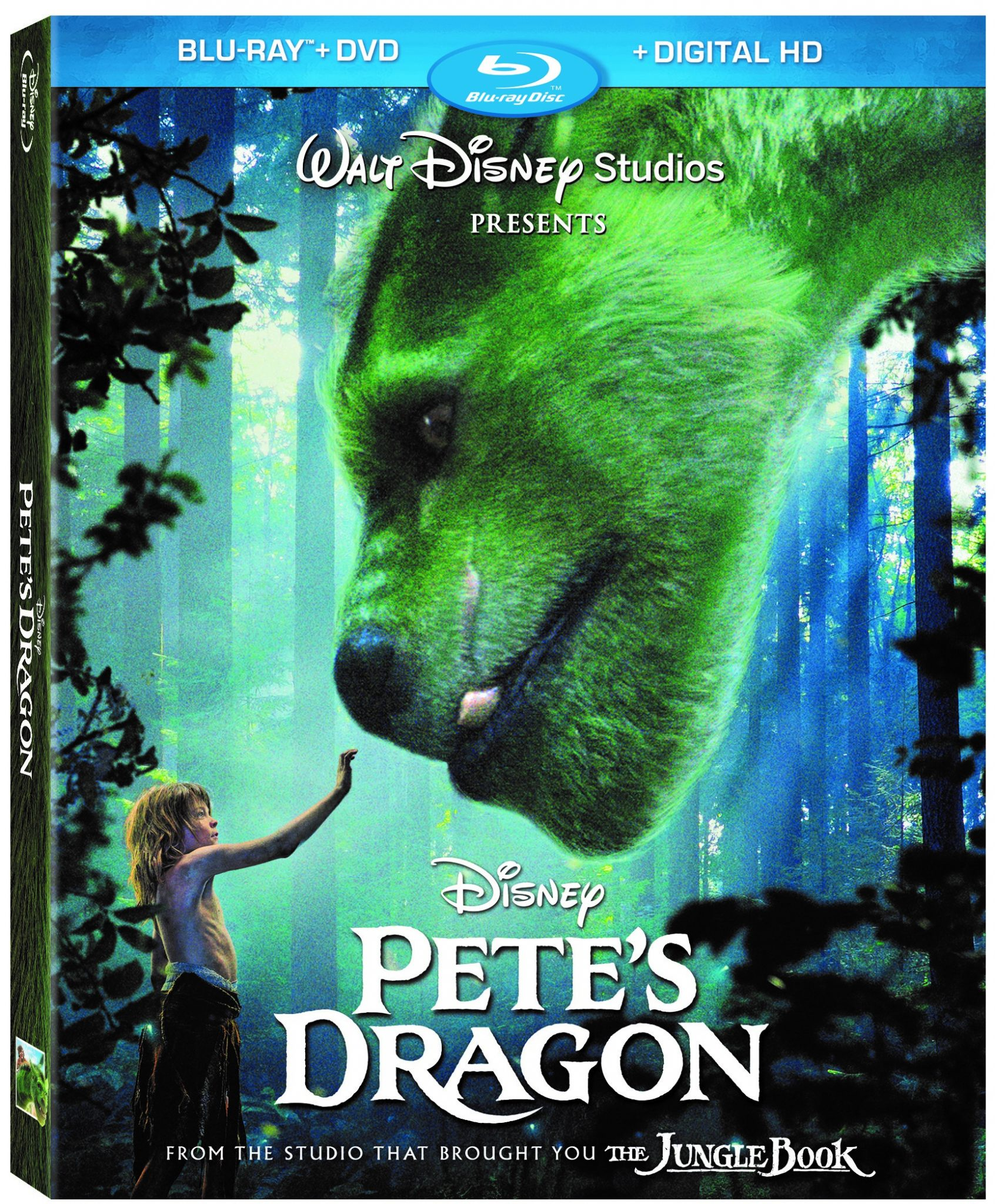 Pete's Dragon Blu-Ray Box
