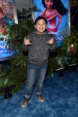 "HOLLYWOOD, CA - NOVEMBER 14: Actor Albert Tsai attends The World Premiere of Disney's ""MOANA"" at the El Capitan Theatre on Monday, November 14, 2016 in Hollywood, CA. (Photo by Alberto E. Rodriguez/Getty Images for Disney) *** Local Caption *** Albert Tsai"