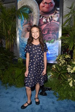 "HOLLYWOOD, CA - NOVEMBER 14: Actress Aubrey Anderson-Emmons attends The World Premiere of Disney's ""MOANA"" at the El Capitan Theatre on Monday, November 14, 2016 in Hollywood, CA. (Photo by Alberto E. Rodriguez/Getty Images for Disney) *** Local Caption *** Aubrey Anderson-Emmons"