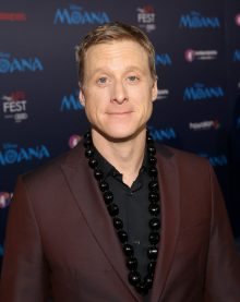 """HOLLYWOOD, CA - NOVEMBER 14: Actor Alan Tudyk attends The World Premiere of Disney's """"MOANA"""" at the El Capitan Theatre on Monday, November 14, 2016 in Hollywood, CA. (Photo by Jesse Grant/Getty Images for Disney) *** Local Caption *** Alan Tudyk"""