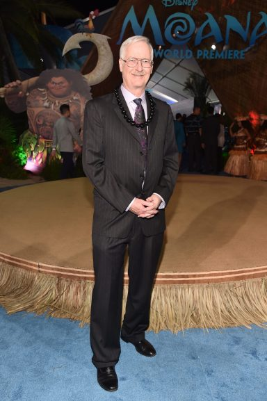 """HOLLYWOOD, CA - NOVEMBER 14: Director John Musker attends The World Premiere of Disney's """"MOANA"""" at the El Capitan Theatre on Monday, November 14, 2016 in Hollywood, CA. (Photo by Alberto E. Rodriguez/Getty Images for Disney) *** Local Caption *** John Musker"""