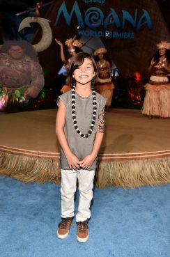 """HOLLYWOOD, CA - NOVEMBER 14: Actor Malachi Barton attends The World Premiere of Disney's """"MOANA"""" at the El Capitan Theatre on Monday, November 14, 2016 in Hollywood, CA. (Photo by Alberto E. Rodriguez/Getty Images for Disney) *** Local Caption *** Malachi Barton"""