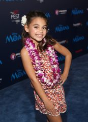 """HOLLYWOOD, CA - NOVEMBER 14: Actress Ariana Greenblatt attends The World Premiere of Disney's """"MOANA"""" at the El Capitan Theatre on Monday, November 14, 2016 in Hollywood, CA. (Photo by Jesse Grant/Getty Images for Disney) *** Local Caption *** Ariana Greenblatt"""