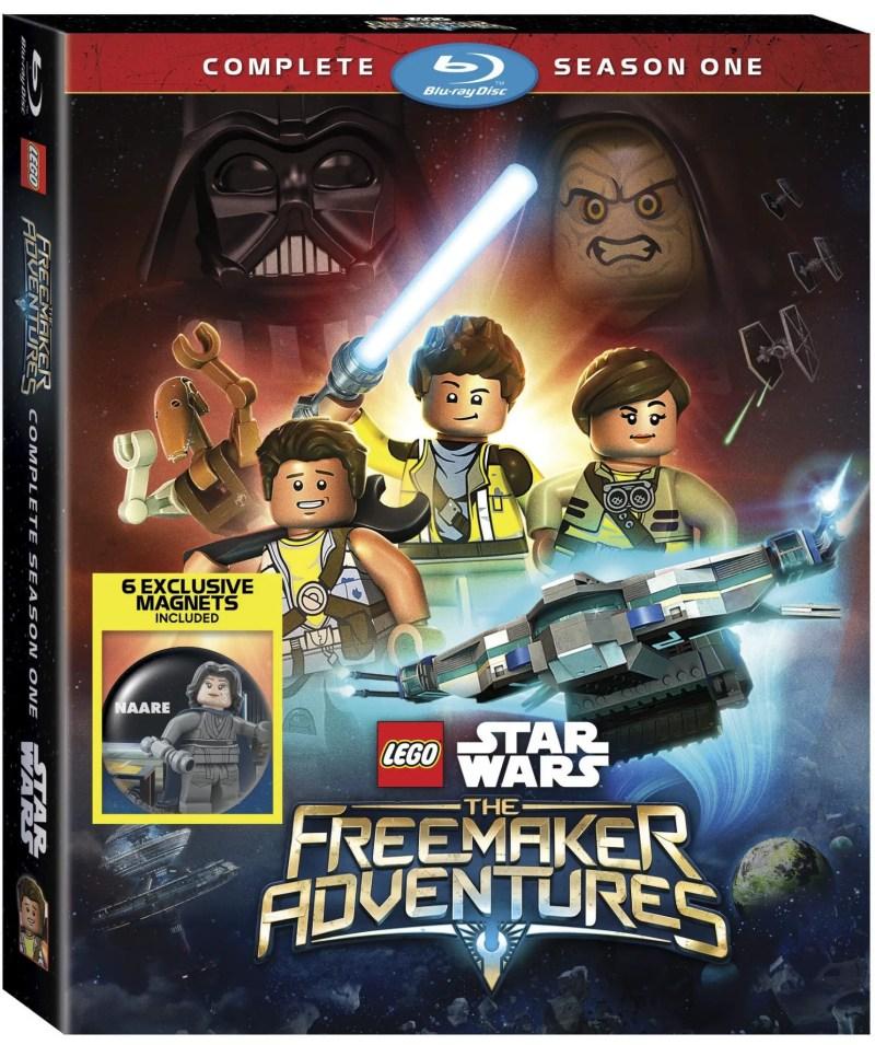 Lego Star Wars Freemaker Season One on Blu-ray and DVD December
