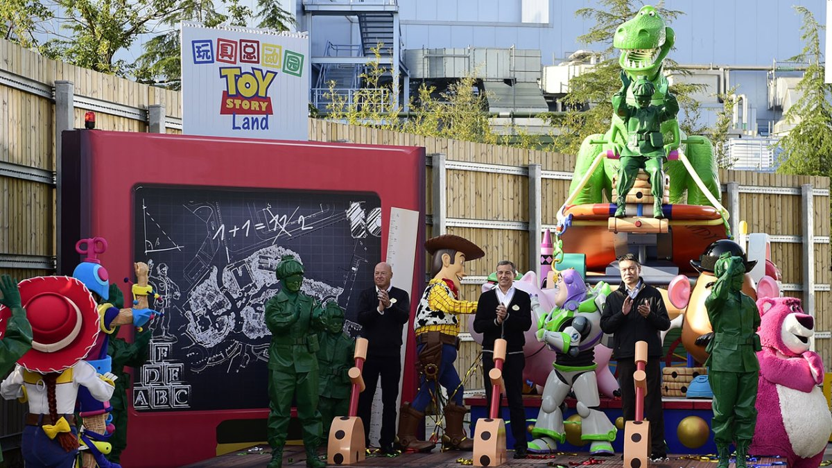 Shanghai Disneyland Breaks Ground on Toy Story Land