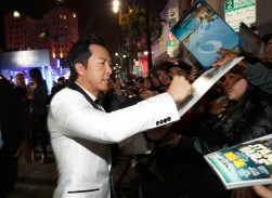 """HOLLYWOOD, CA - DECEMBER 10: Actor Donnie Yen attends The World Premiere of Lucasfilm's highly anticipated, first-ever, standalone Star Wars adventure, """"Rogue One: A Star Wars Story"""" at the Pantages Theatre on December 10, 2016 in Hollywood, California. (Photo by Rich Polk/Getty Images for Disney) *** Local Caption *** Donnie Yen"""
