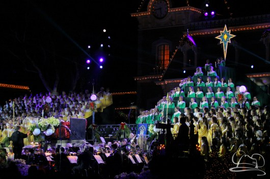 Candlelight Ceremony and Processional at Disneyland with Ginnifer Goodwin