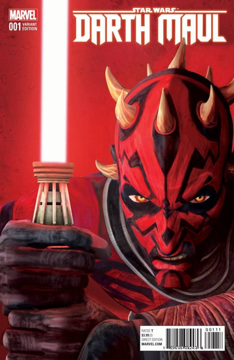 Marvel Comics News Digest 1/9 - 1/13/17 Featuring Darth Maul