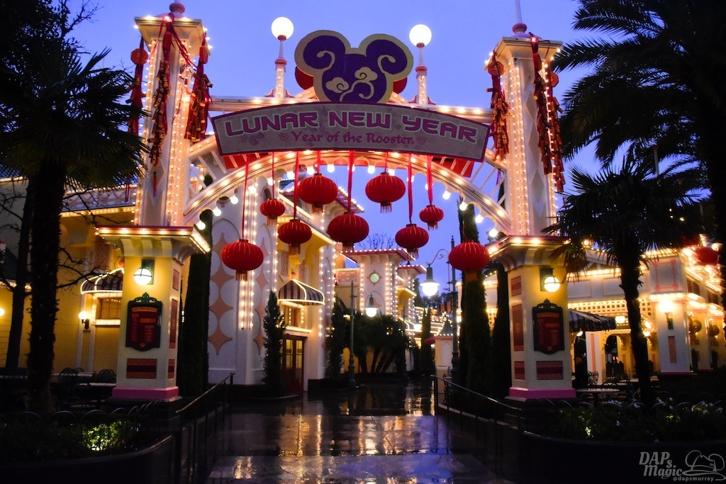 Lunar New Year in the Rain - Sundays With DAPs Disneyland Update