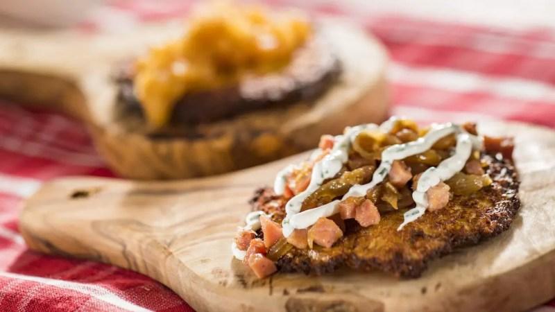 Potato Pancakes - Epcot International Flower & Garden Festival