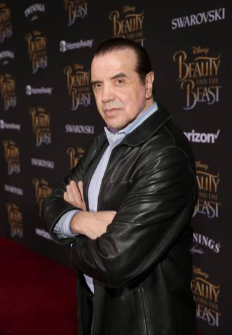 """LOS ANGELES, CA - MARCH 02: Actor Chazz Palminteri arrives for the world premiere of Disney's live-action """"Beauty and the Beast"""" at the El Capitan Theatre in Hollywood as the cast and filmmakers continue their worldwide publicity tour on March 2, 2017 in Los Angeles, California. (Photo by Jesse Grant/Getty Images for Disney) *** Local Caption *** Chazz Palminteri"""