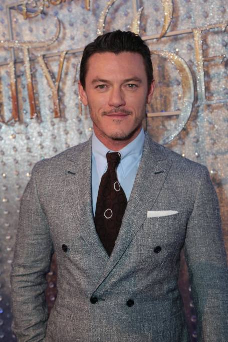 """Luke Evans arrives for the world premiere of Disney's live-action """"Beauty and the Beast"""" at the El Capitan Theatre in Hollywood as the cast and filmmakers continue their worldwide publicity tour. (Photo: Alex J. Berliner/ABImages)"""