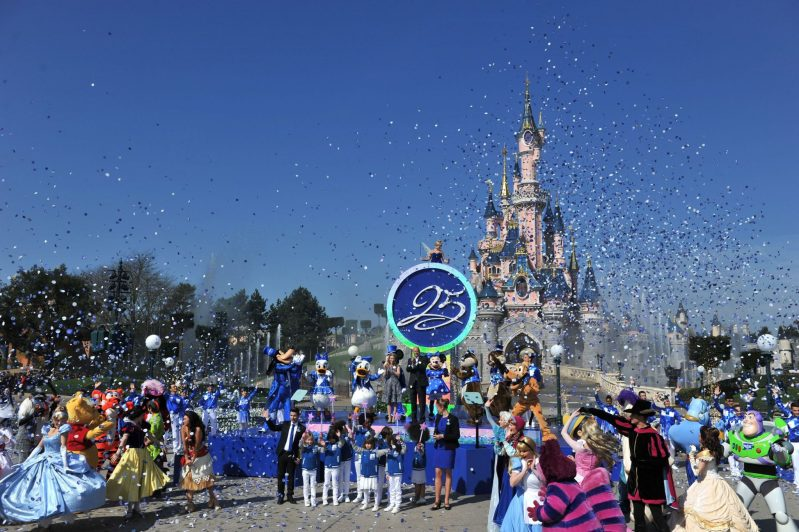 Disneyland Paris 25th Anniversary Celebration