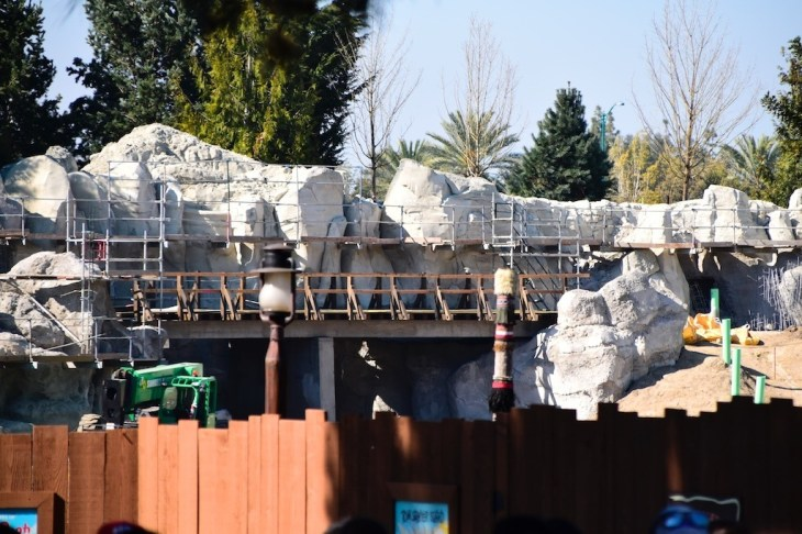 DisneylandStarWarsLandConstruction 1