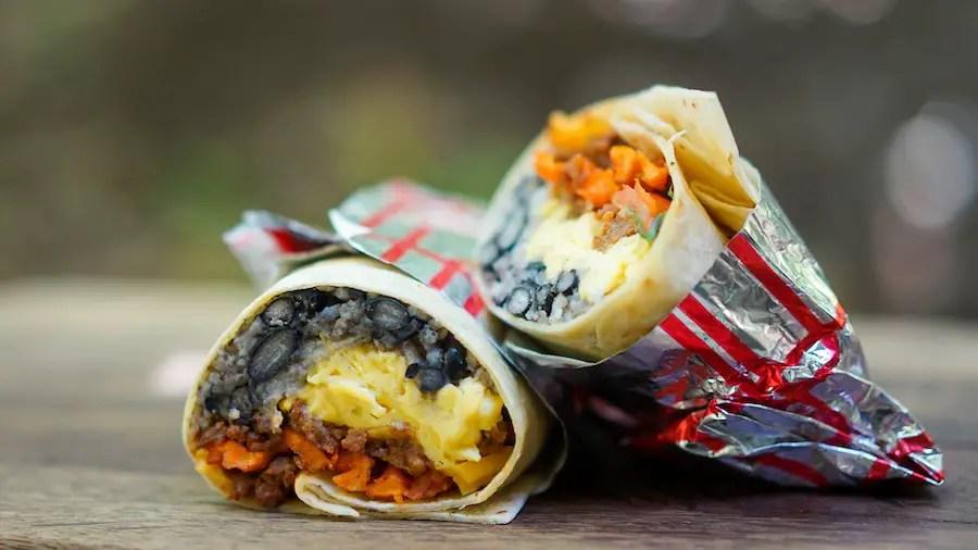 Royal Street Breakfast Burrito