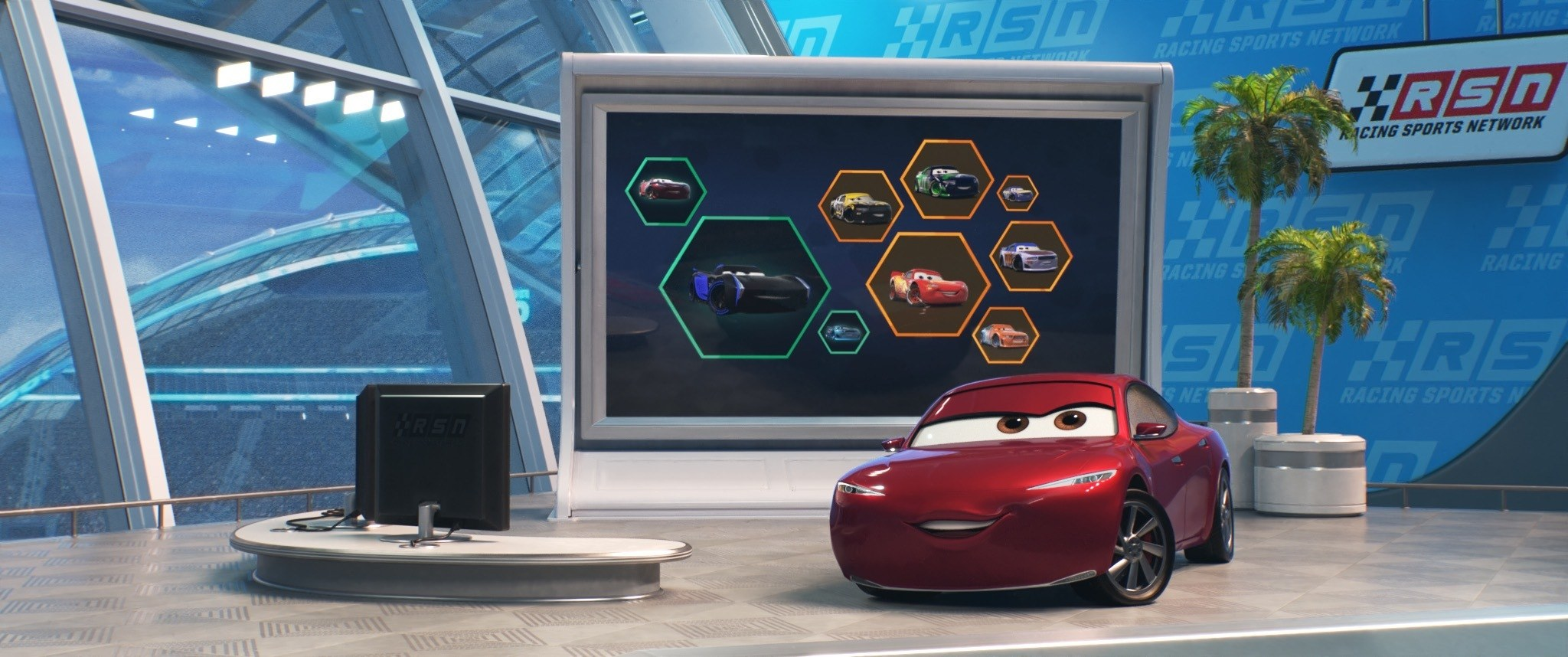 Disney Pixar Unveils Key Cast Characters And New Poster For Cars 3