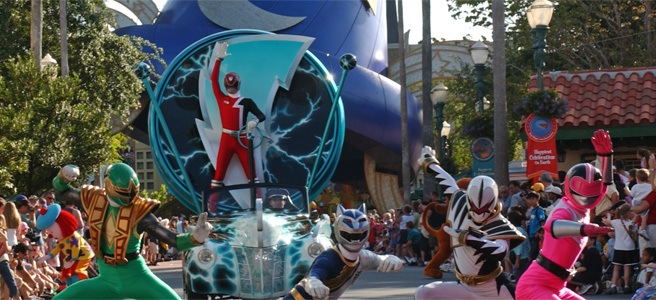 The Power Rangers Disney Connection - DAPs From the Past