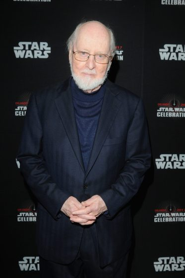 ORLANDO, FL - APRIL 13: Composer John Williams attends the 40 YEARS OF STAR WARS PANEL during the 2017 STAR WARS CELEBRATION at Orange County Convention Center on April 13, 2017 in Orlando, Florida. (Photo by Gerardo Mora/Getty Images for Disney) *** Local Caption *** John Williams