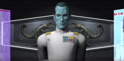 Admiral Thrawn - Star Wars Rebels