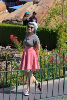 Caitie Bear on Dapper Day