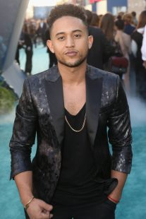 "HOLLYWOOD, CA - MAY 18: Actor Tahj Mowry at the Premiere of Disney's and Jerry Bruckheimer Films' ""Pirates of the Caribbean: Dead Men Tell No Tales,"" at the Dolby Theatre in Hollywood, CA with Johnny Depp as the one-and-only Captain Jack in a rollicking new tale of the high seas infused with the elements of fantasy, humor and action that have resulted in an international phenomenon for the past 13 years. May 18, 2017 in Hollywood, California. (Photo by Jesse Grant/Getty Images for Disney) *** Local Caption *** Tahj Mowry"