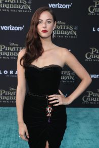 "HOLLYWOOD, CA - MAY 18: Actor Kaya Scodelario at the Premiere of Disney's and Jerry Bruckheimer Films' ""Pirates of the Caribbean: Dead Men Tell No Tales,"" at the Dolby Theatre in Hollywood, CA with Johnny Depp as the one-and-only Captain Jack in a rollicking new tale of the high seas infused with the elements of fantasy, humor and action that have resulted in an international phenomenon for the past 13 years. May 18, 2017 in Hollywood, California. (Photo by Rich Polk/Getty Images for Disney) *** Local Caption *** Kaya Scodelario"