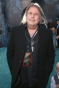 """HOLLYWOOD, CA - MAY 18: Writer Terry Rossio at the Premiere of Disney's and Jerry Bruckheimer Films' """"Pirates of the Caribbean: Dead Men Tell No Tales,"""" at the Dolby Theatre in Hollywood, CA with Johnny Depp as the one-and-only Captain Jack in a rollicking new tale of the high seas infused with the elements of fantasy, humor and action that have resulted in an international phenomenon for the past 13 years. May 18, 2017 in Hollywood, California. (Photo by Jesse Grant/Getty Images for Disney) *** Local Caption *** Terry Rossio"""