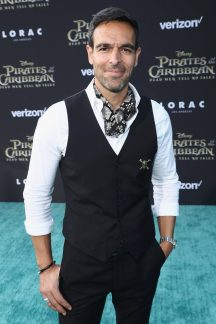 """HOLLYWOOD, CA - MAY 18: Actor TJ Ramini at the Premiere of Disney's and Jerry Bruckheimer Films' """"Pirates of the Caribbean: Dead Men Tell No Tales,"""" at the Dolby Theatre in Hollywood, CA with Johnny Depp as the one-and-only Captain Jack in a rollicking new tale of the high seas infused with the elements of fantasy, humor and action that have resulted in an international phenomenon for the past 13 years. May 18, 2017 in Hollywood, California. (Photo by Rich Polk/Getty Images for Disney) *** Local Caption *** TJ Ramini"""