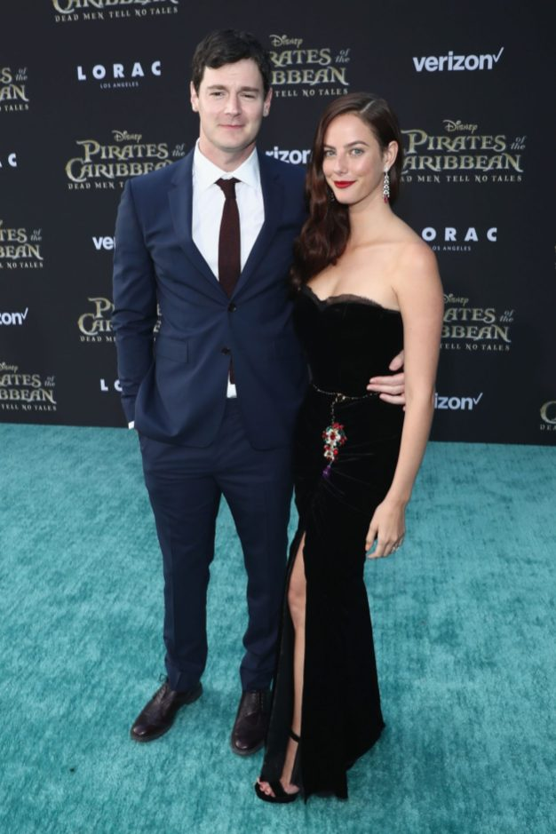 "HOLLYWOOD, CA - MAY 18: Actors Benjamin Walker (L) and Kaya Scodelario at the Premiere of Disney's and Jerry Bruckheimer Films' ""Pirates of the Caribbean: Dead Men Tell No Tales,"" at the Dolby Theatre in Hollywood, CA with Johnny Depp as the one-and-only Captain Jack in a rollicking new tale of the high seas infused with the elements of fantasy, humor and action that have resulted in an international phenomenon for the past 13 years. May 18, 2017 in Hollywood, California. (Photo by Rich Polk/Getty Images for Disney) *** Local Caption *** Benjamin Walker; Kaya Scodelario"